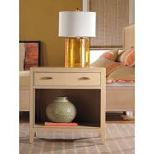 thomasville seagrove ivory one drawer nightstands
