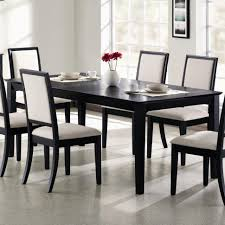 black dining room sets black dining room table thearmchairs