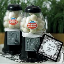 Gumball Party Favors Mini Black Gumball Dispenser Party Favors