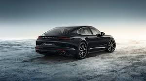 porsche panamera inside porsche exclusive enhances the new panamera inside and out
