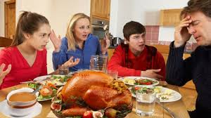 sophomore braces himself for last thanksgiving dinner as a family