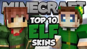 top 10 minecraft christmas elf skins best minecraft skins youtube