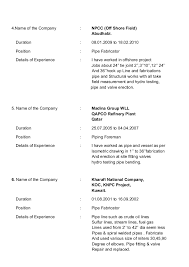 Foreman Resume Example by Piping Supervisor Resume Corpedo Com