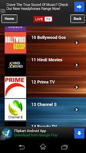 android freeware live tv channel free android app android freeware