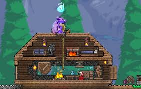 Terraria How To Make A Bed How To Make Your House Base Kawaii Terraria Community Forums