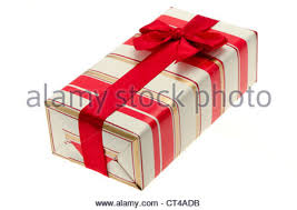 gift wrapped boxes bright gift wrapped box with ribbon and bow studio with