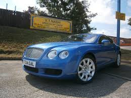 blue bentley used blue bentley continental gt for sale suffolk