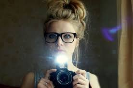 womens hipster haircuts messy bun hairstyles for women with hipster glasses photos images