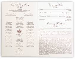 wedding programs exle orthodox wedding program wedding ideas 2018