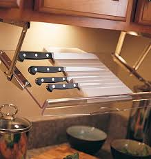 best way to store kitchen knives 40 organization and storage hacks for small kitchens