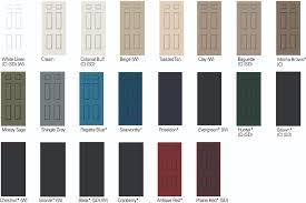 paint your garage door 50s retro renovation style vintage doors
