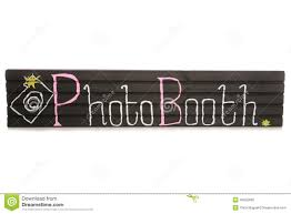 Photo Booth Sign Wood Wedding Photobooth Sign Stock Photo Image 61383405