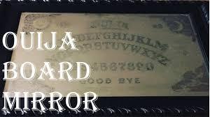 Ouija Board Coffee Table by How To Diy Spooky Ouija Board Mirror Diy Gothic Mirror Youtube