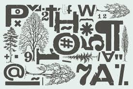 Stencil Albero by Cozza Desktop Font U0026 Webfont Youworkforthem