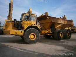 volvo dump truck used volvo a40 articulated dump truck adt year 1998 for sale