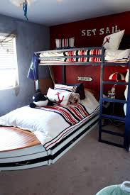 boat trundle bed furniture of america capitaine boat twin bed with