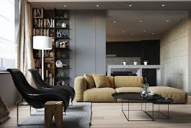 Posh Interiors by Apartment Ernst In Kiev Inspired By Posh Hotel Ambiance