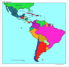 Blank Latin America Map by Blank World Region Map America Pictures Latin City Hiltonmaps Com
