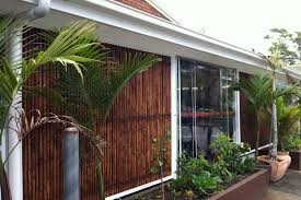 External Awning Blinds Verandah Drop Cord And Pully Awnings Alltone Shutters And Blinds