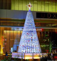 Spiral Lighted Christmas Trees Outdoor by Christmas Tree Giant Outdoor Commercial Lighted Christmas Tree