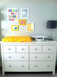 Nursery Dresser With Changing Table Nursery Dresser Ideas Changing Table Crib Set Coccinelleshow
