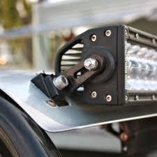 polaris rzr light bar axia alloys led light bar mount for rigid industries utv billet