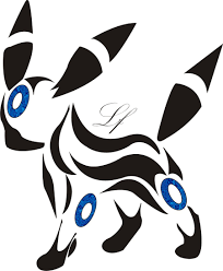 umbreon pokemon tribal tattoo images pokemon images