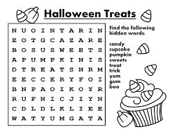 halloween candy coloring pages 28 halloween word for food 21 halloween party treats 2