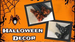 Halloween Ornaments For Tree by Diy Dollar Tree Halloween Decor Spooky Halloween Trees Youtube