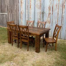 wood and metal dining table sets reclaimed wood dining table set oasis games