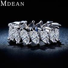 aliexpress buy new arrival white gold color aaa mdean white gold plated ring aaa zircon ring for women engagement