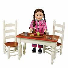 farmhouse collection farm table u0026 chairs for madame alexander doll