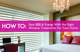how to find the right window treatments to save energy and money