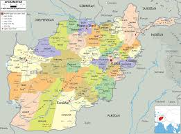 Political Map Of South Asia by Detailed Clear Large Map Of Afghanistan Ezilon Maps