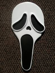 ghost face scream mask how to make ghostface screammask wall piece 6 steps
