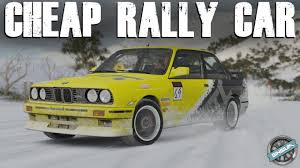 bmw rally car cheap rally car 1991 bmw m3 e30 rally build fh3 blizzard
