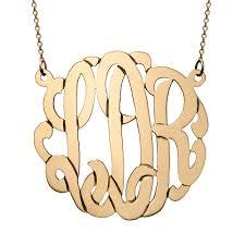 monogram initials necklace monogram necklace monogram initial necklace