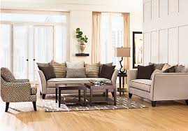 Coffee Table Rooms To Go Shop For A Sofia Vergara Santorini 7 Pc Living Room At Rooms To Go