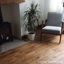 Canadia Laminate Flooring Platinum Series Solid Oak Uv Brandy 120mm Wooden Flooring