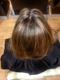 foil highlights for brown hair highlighted hair grace to create