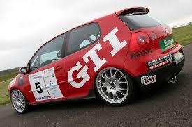 volkswagen race car vw golf gti mk5 racer and milltek sport exhaust system