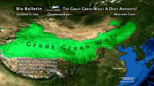 Map Of The Great Wall Of China by Science Bulletins China U0027s