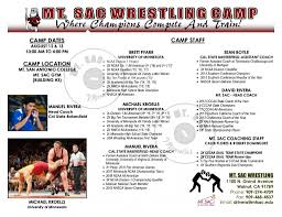 Mtsac Map 2017 Mt Sac Wrestling Camp Socalwrestlergirl Com