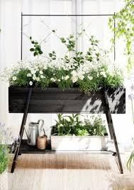 Garden With Trellis Wood Plant Stand Indoor Open Travel