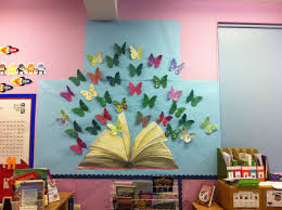 Corner Wall Art by Loveartclasses Book Corner Wall Display