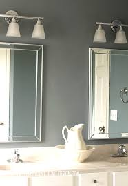 How To Make Bathroom Cabinets - how to replace a hollywood light with 2 vanity lights
