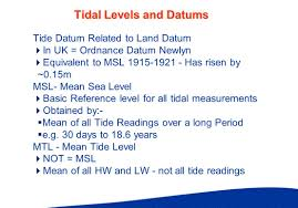 learning outcomes why do we need to know about tides tidal forces