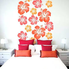 wall stencils for bedroom stenciled bedroom walls viraladremus club