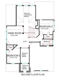 house plans with media room 15 second floor plan house 2378 two story house plans with media