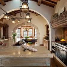 kitchen kitchen in spanish style for completing your natural home